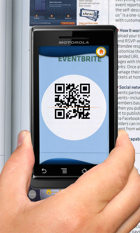 Leitor Vivo: QR Codes- screenshot