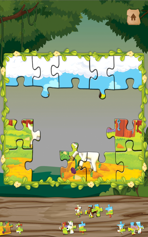 Willy the goat: A puzzle game- screenshot