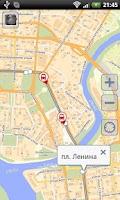 Screenshot of Мой маршрут - Омск 2