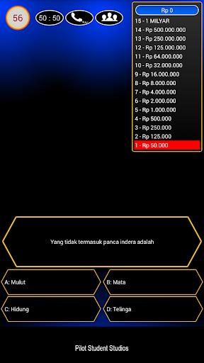 Kuis Millionaire Indonesia 2.14 screenshots 10
