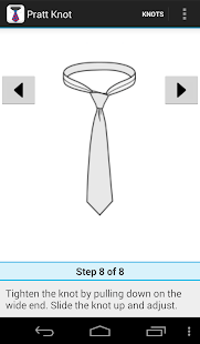 How to tie a tie- スクリーンショットのサムネイル