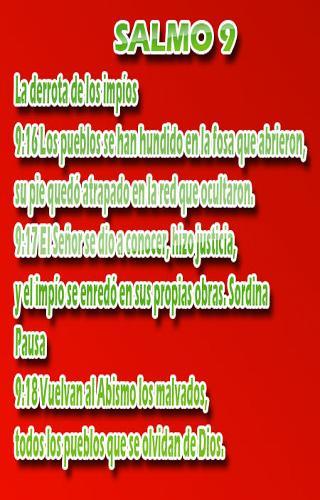 Salmos Biblicos【生活APP玩免費】-APP點子