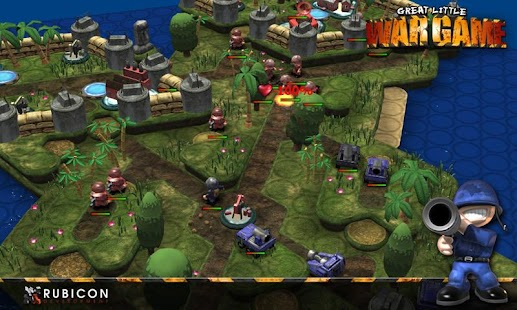 Great Little War Game: miniatura de captura de pantalla