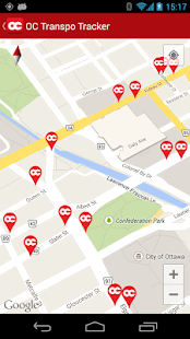OC Transpo Tracker - screenshot thumbnail