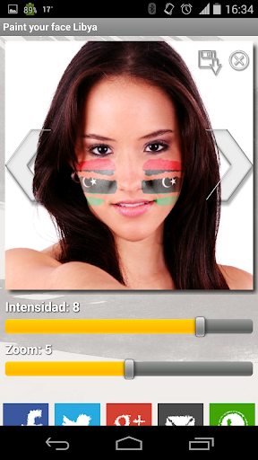 【免費運動App】Paint your face Libya-APP點子