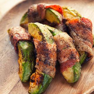Bacon-Wrapped Avocado.