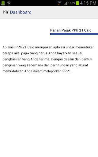 Ranah Pajak PPh 21 Calc