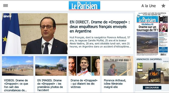 Le Parisien - Info France- screenshot thumbnail