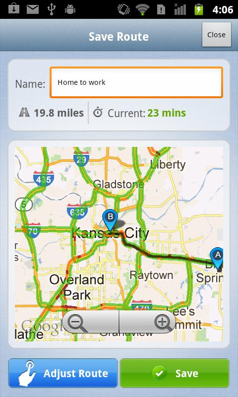 KCTV5 On Time Traffic - screenshot