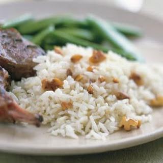 Spiced Basmati Rice Pilaf