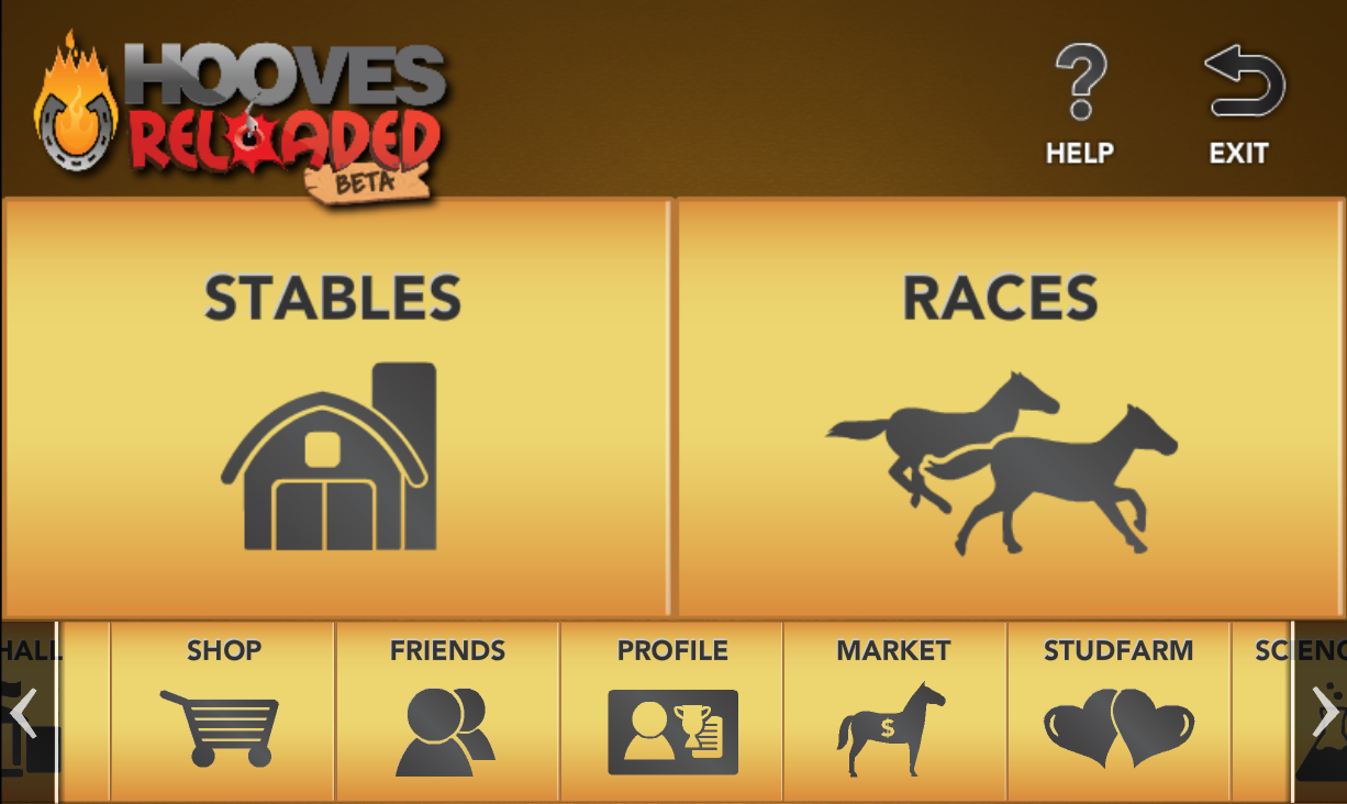 Hooves Reloaded: Horse Racing - screenshot