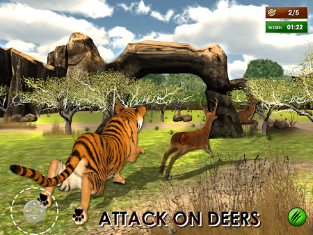 Wild Tiger Jungle Hunt 3D 1.7 screenshot 69915