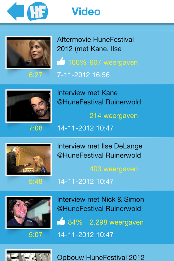 HuneFestival - screenshot