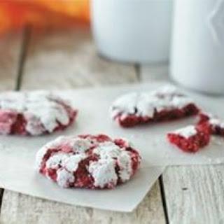 Gooey Red Velvet Butter Cookies