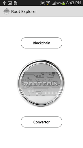 RootCoin Explorer