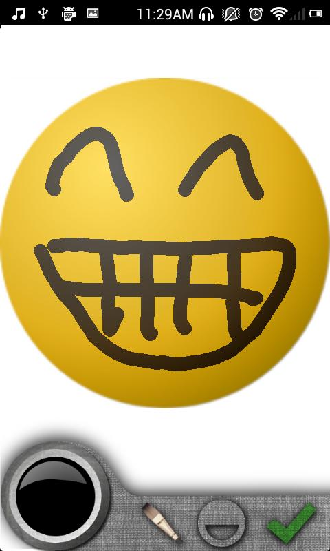 SmileyDraw for WhatsApp - screenshot