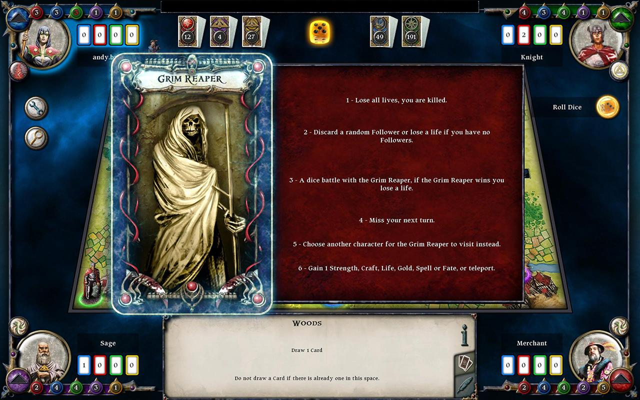 Talisman - screenshot