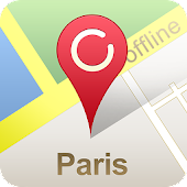 Paris Offline City Map ( GPS )