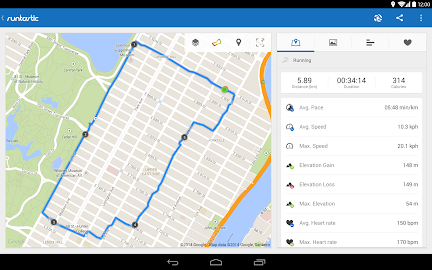 Runtastic Running PRO Screenshot 2