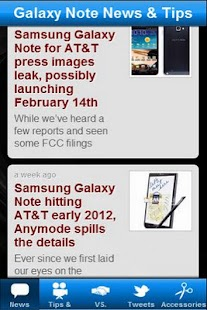 Galaxy Note News & Tips- screenshot thumbnail
