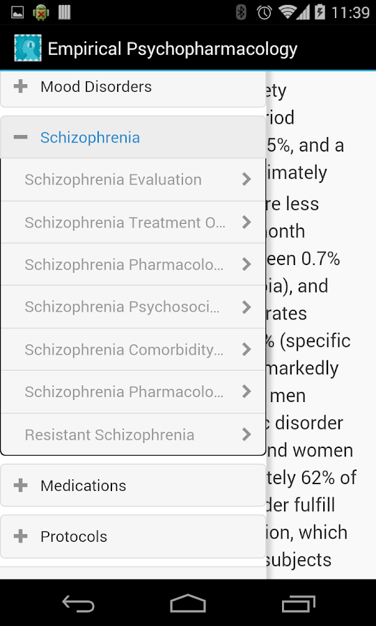Empirical Psychopharmacology - screenshot