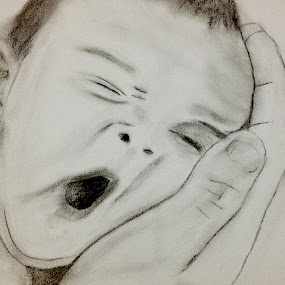 Baby by Ahmet AYDIN - Drawing All Drawing