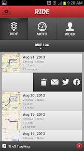 Ride- screenshot thumbnail