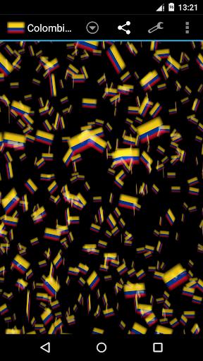 Colombia Storm 3D Wallpaper