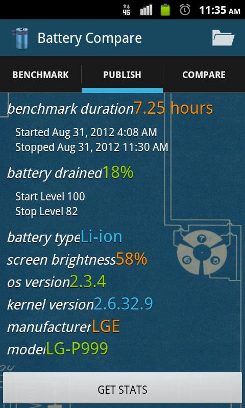 Battery Compare- screenshot