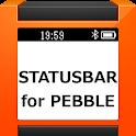 Pebble Statusbar icon