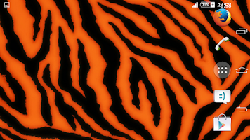 Screenshot of Xperien Tiger Theme