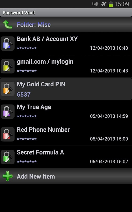 SSE - Universal Encryption App - screenshot