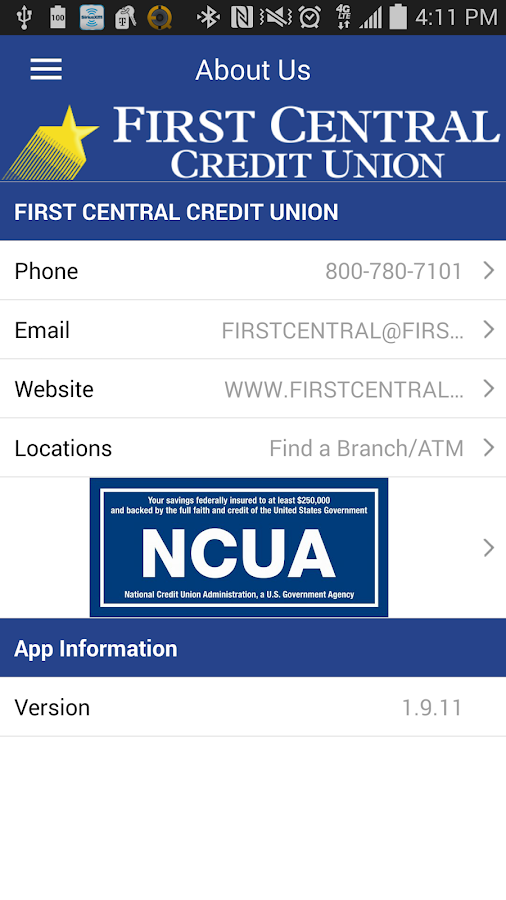 First central credit union android apps on google play - Credot ilot centraal ...
