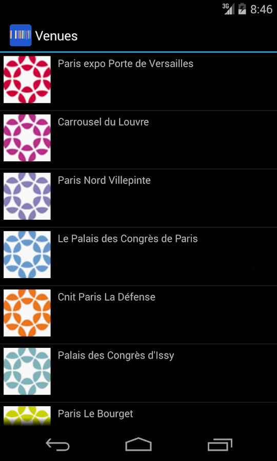 myParis- screenshot