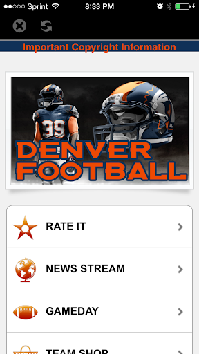 Denver Football STREAM+