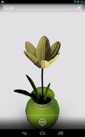 Screenshot of Elegant Flower Live Wallpaper
