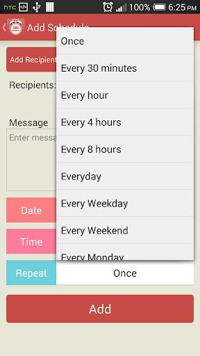 Schedule SMS - Auto SMS Sender