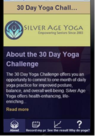 SAY 30 Day Yoga Challenge