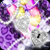 KiraHime JP Purple Leopard