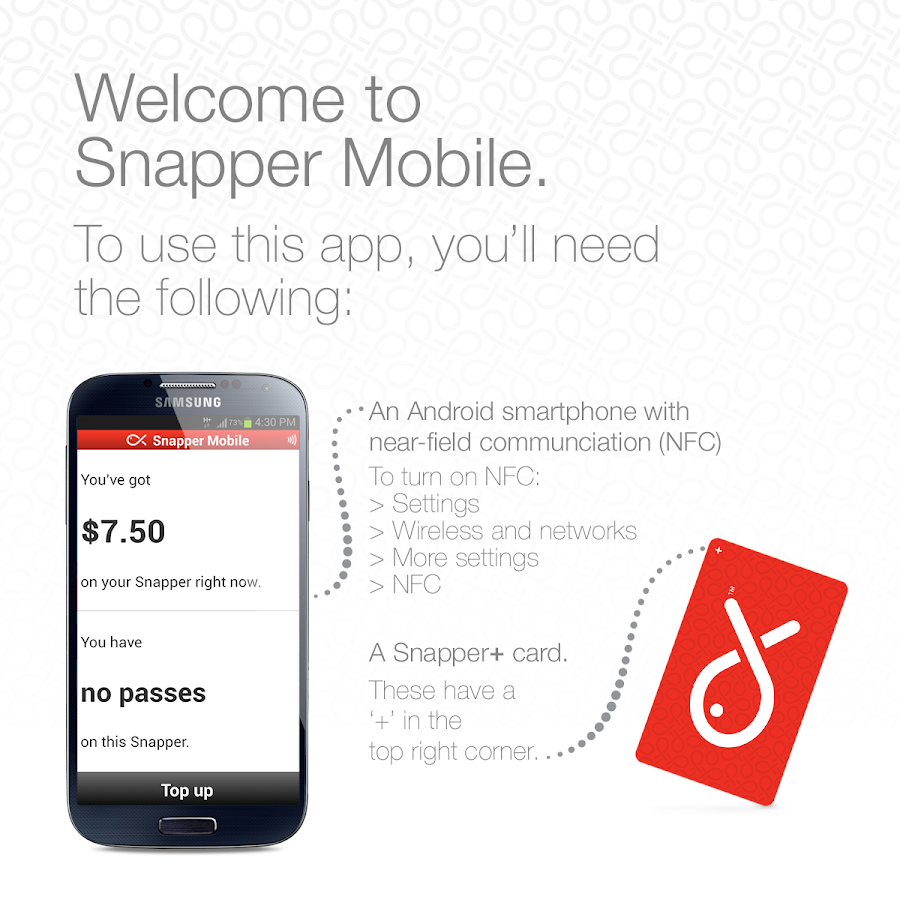 Snapper Mobile - screenshot