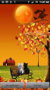 Two Cats Live Wallpaper - screenshot thumbnail