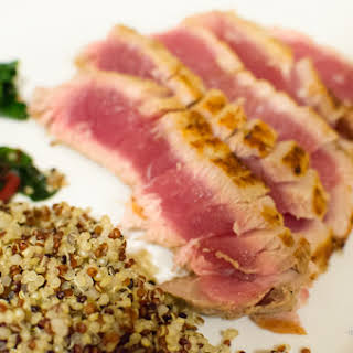 Seared Ahi Tuna.