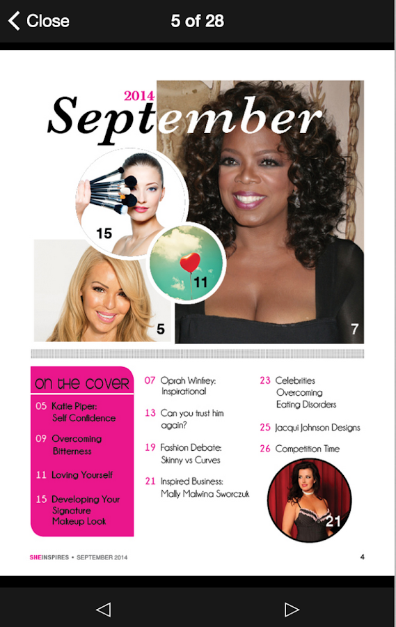 SheInspires Magazine- screenshot