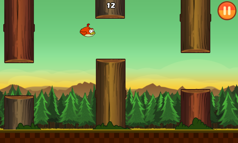 Clumsy Bird- screenshot