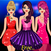 Le ragazze Party Dress up
