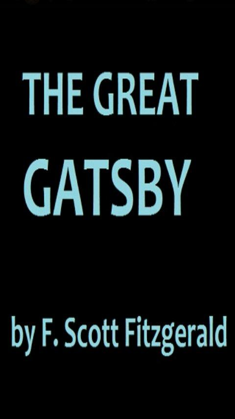 the great gatsby visual essay