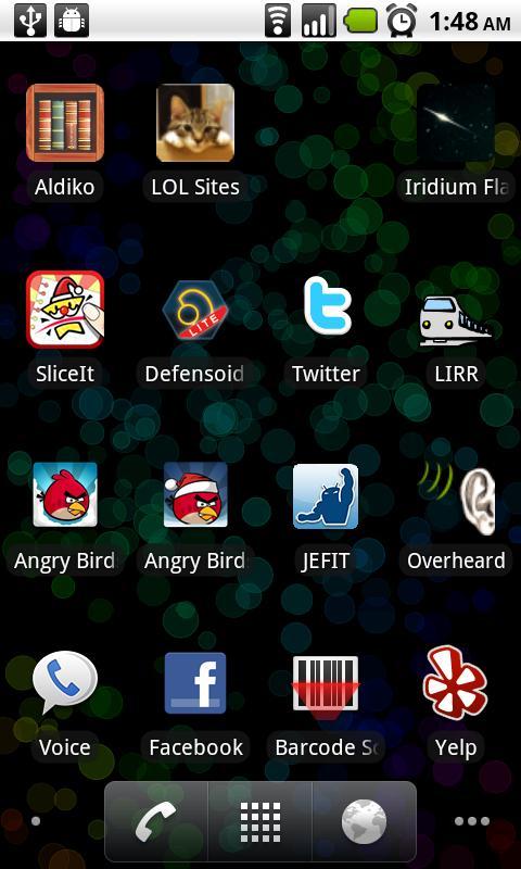 Bokeh Circles Live Wallpaper - screenshot