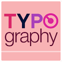 Typo Pink atom theme icon