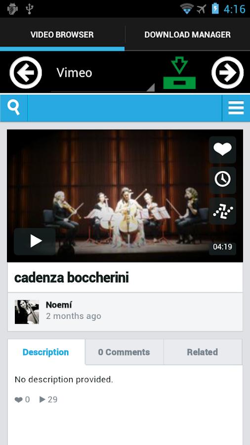 Video Download- screenshot