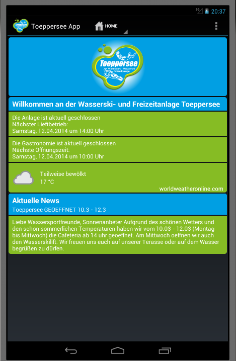 Toeppersee- screenshot
